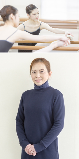 バレエ 藤田真弓先生