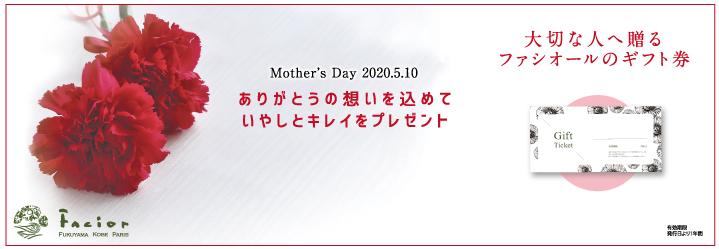 母の日プレゼントギフト券
