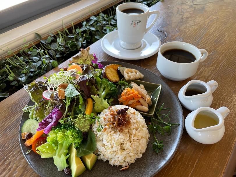 サラダ野菜ランチ